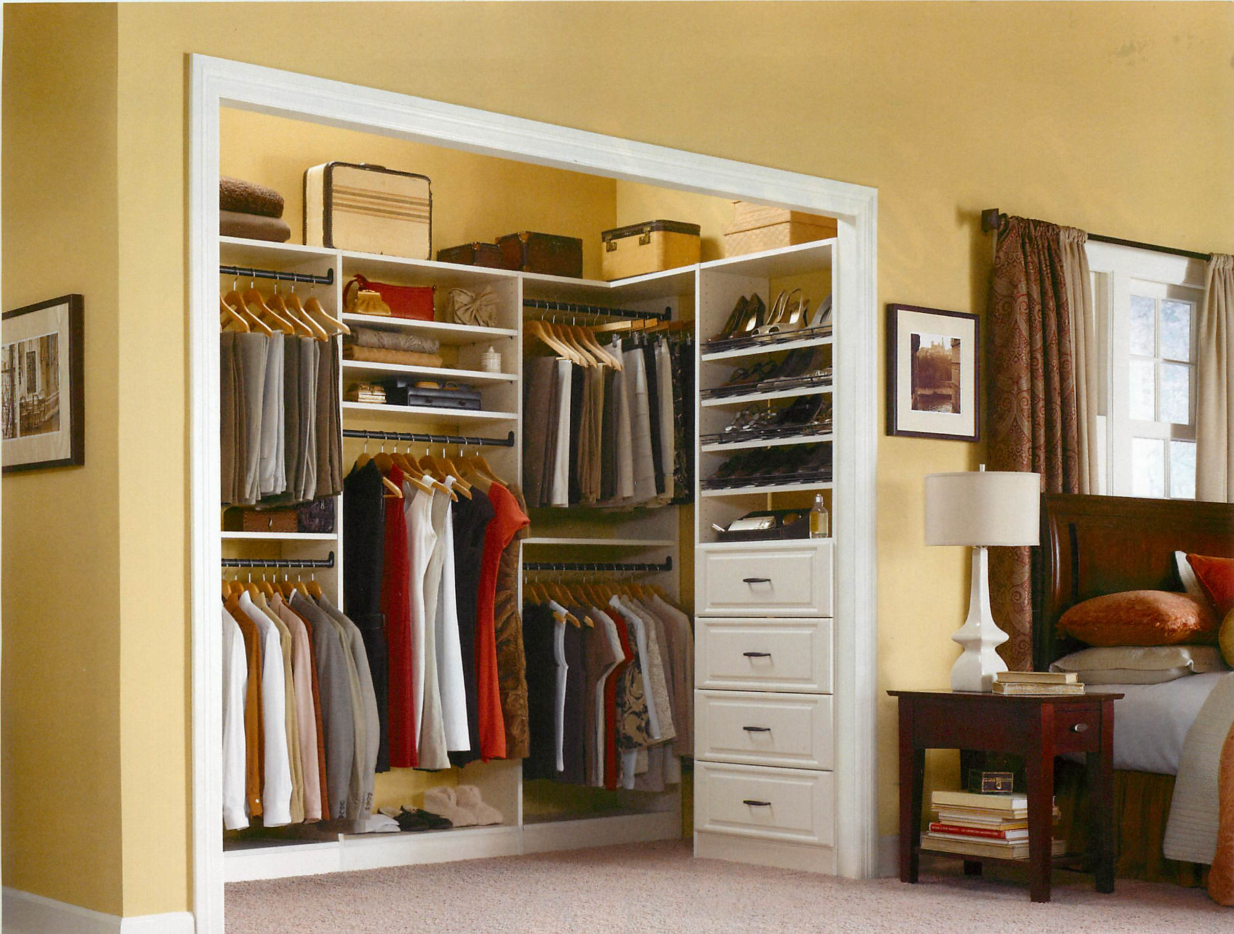 Rubbermaid Custom Closets & Rubbermaid Custom Closets are the answer to your organizing question ...